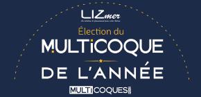LIZmer partenaire de l'élection du Multicoque de l'année