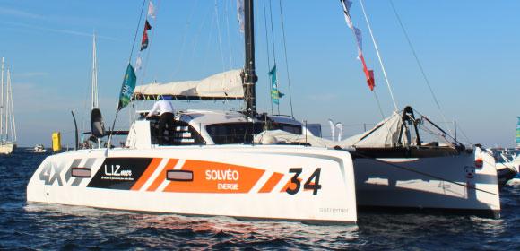 Jean-Pierre Balmes skipper LIZmer 5ème en Rhum Multi