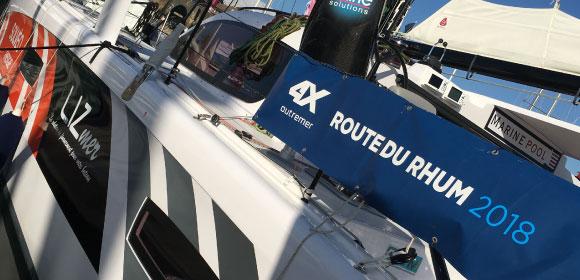 LIZmer soutient Jean-Pierre Balmes sur la Route du Rhum 2018