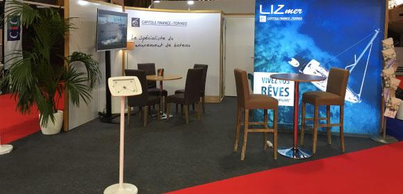 LIZmer au Nautic Paris 2018